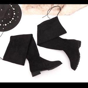 Brand New Winter Black Knee-high Boots